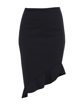 Ruffle Skirt Black