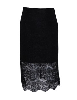 Lace Skirt Black