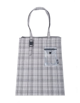 Main Tote Plaid Grey