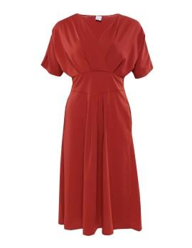 Osso Dress Terracotta