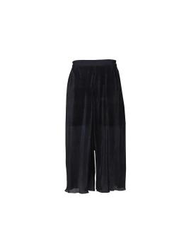 Palazzo Short Pants Black