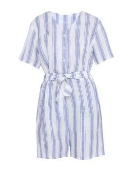 Hera Romper Blue Stripes