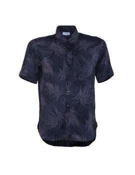 Black Palm Leaves Shirt
