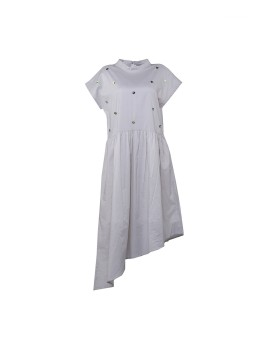 Puura Dress Light Grey