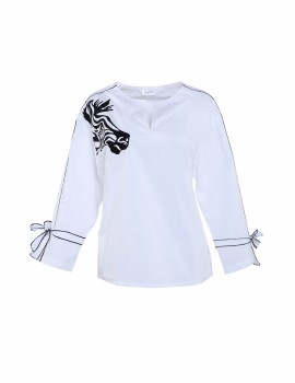 Zebra Shirt white