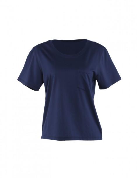 Ultrasoft Supima Box Tee T-shirt Navy