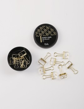 Wire Clip Small Gold