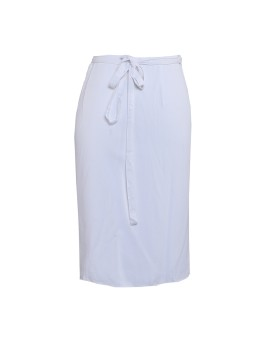 Athena Wrap Skirt White