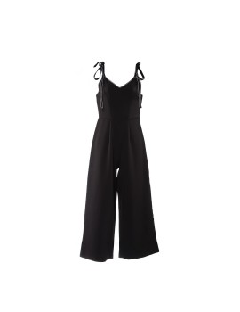 Chloe Tied Up Jumpsuit Black