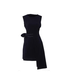 Pammy Lining Dress Navy