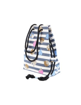 Stripe Summer Bag Blue