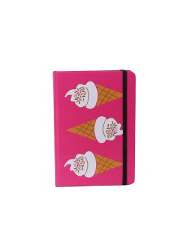 Pink Cone Notebook