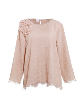 Vogue Top Dusty Pink