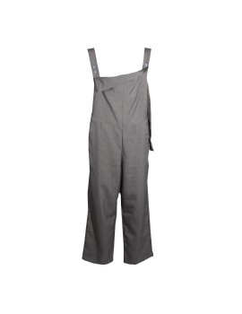 Asymmetrical Jumpsuit in Charcoal Gray