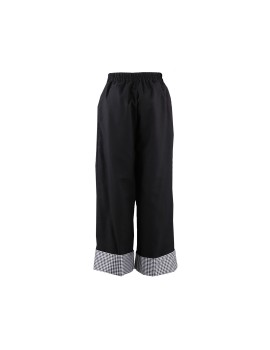 Gingham Buckle Pants