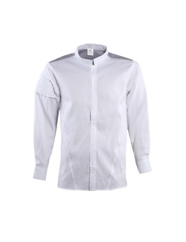White Shirt Linen Grey