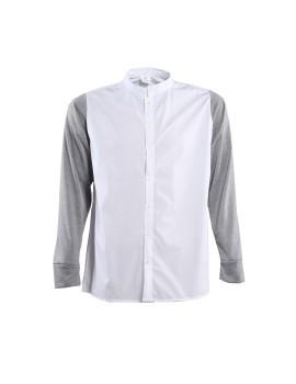 White Shirt Baby Terry