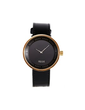 Toba Gold-Black Strap Black (Women)
