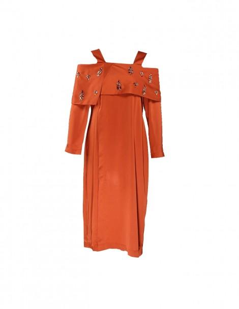 Talika Tunic in Orange