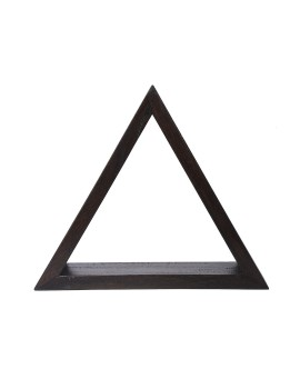Triangular Shelf in Rustic