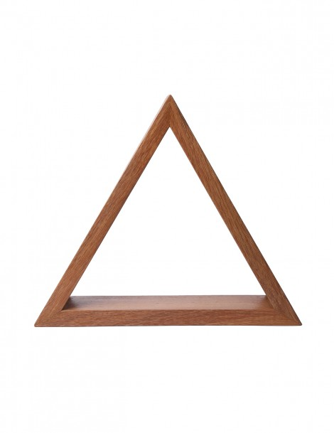 Triangular Shelf in Natural