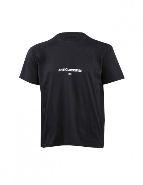 Oversized Anticlockwise Tee Black