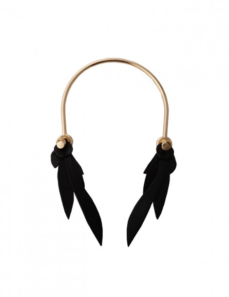 Mocking Jay Half Chocker Black