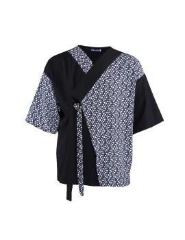 Oniisan Printed Kimono With Strap