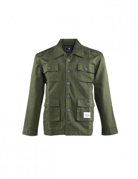 Ramble Green Army Field Jacket