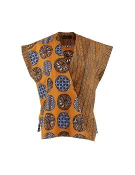 Kimono Top Brown