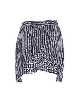 Batik skort Black & white