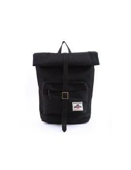 Rengganis Roll Top Backpack Black