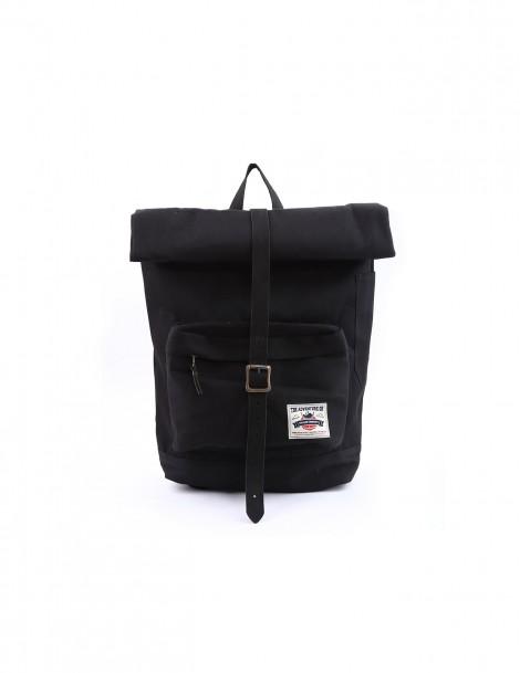 Rengganis Roll Top Backpack Black