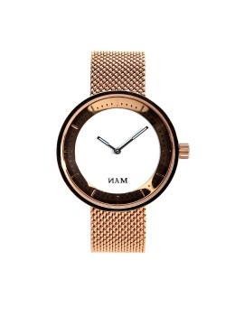 Toba White Mesh Rose Gold (Women)