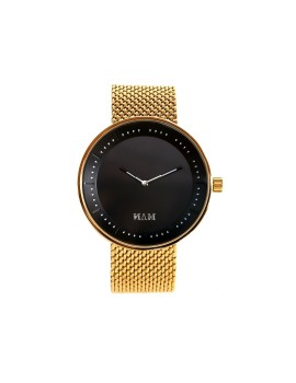 Toba Gold-Black Mesh Gold