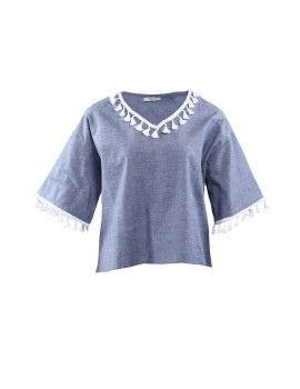 Kiara Top Blue