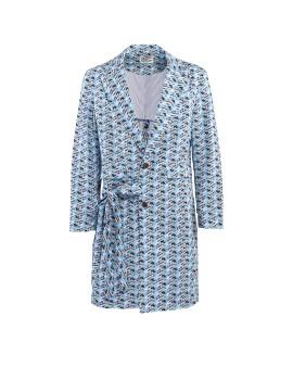 Eccentrica Coat Soft Blue