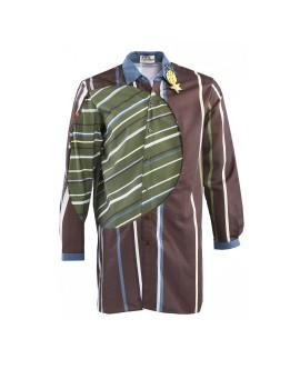 Lamia Shirt Green Brown