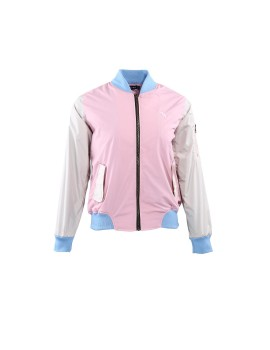 Bomber Pink & Off White