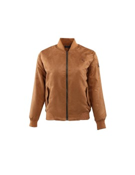 Bomber Suede Brown