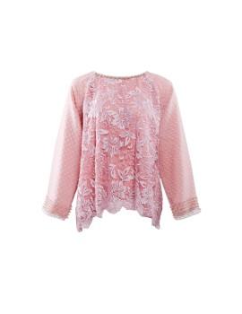 Amber Top Longsleeve Pink