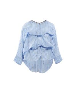 Amala Top Longsleeve Blue