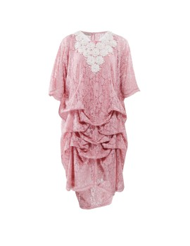 Ara Kaftan Dress Shortsleeve Pink