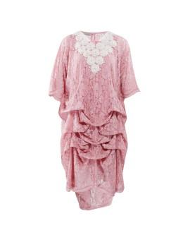 Ara Kaftan Dress Shortsleeve Pink