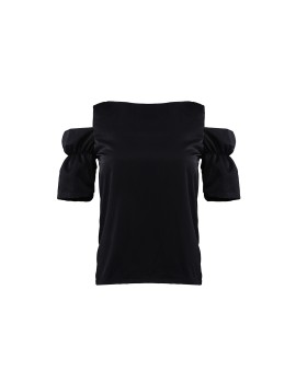 Camden Off Shoulder Top Black