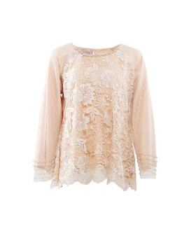 Amber Top Longsleeve Honey Gold