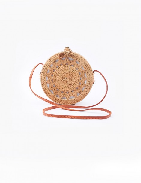 Rattan Round Bag Braid Style