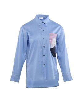 Lenia Shirt Blue