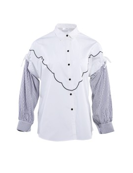 Isha Shirt White