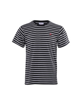 Striped Tee BW